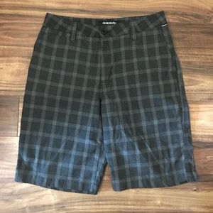 Men's quicksilver shorts.